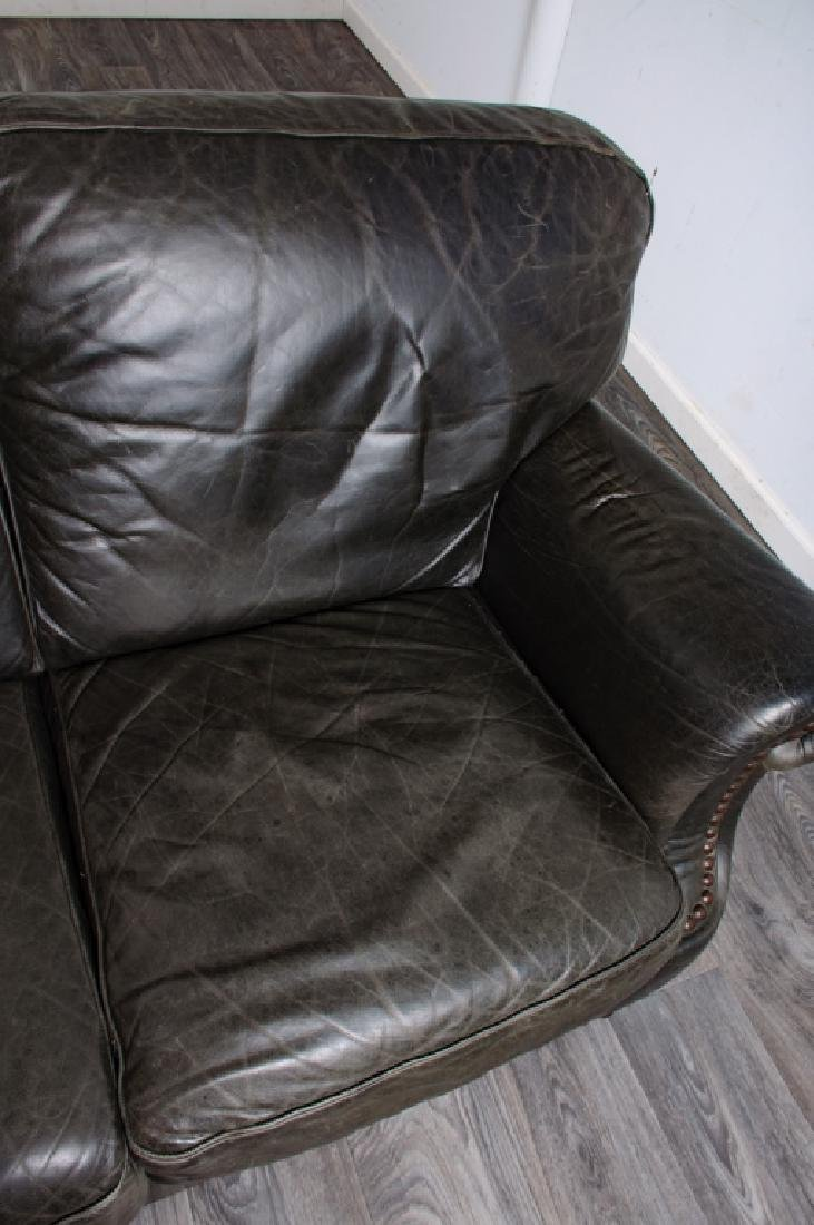 Leather Loveseat - 6