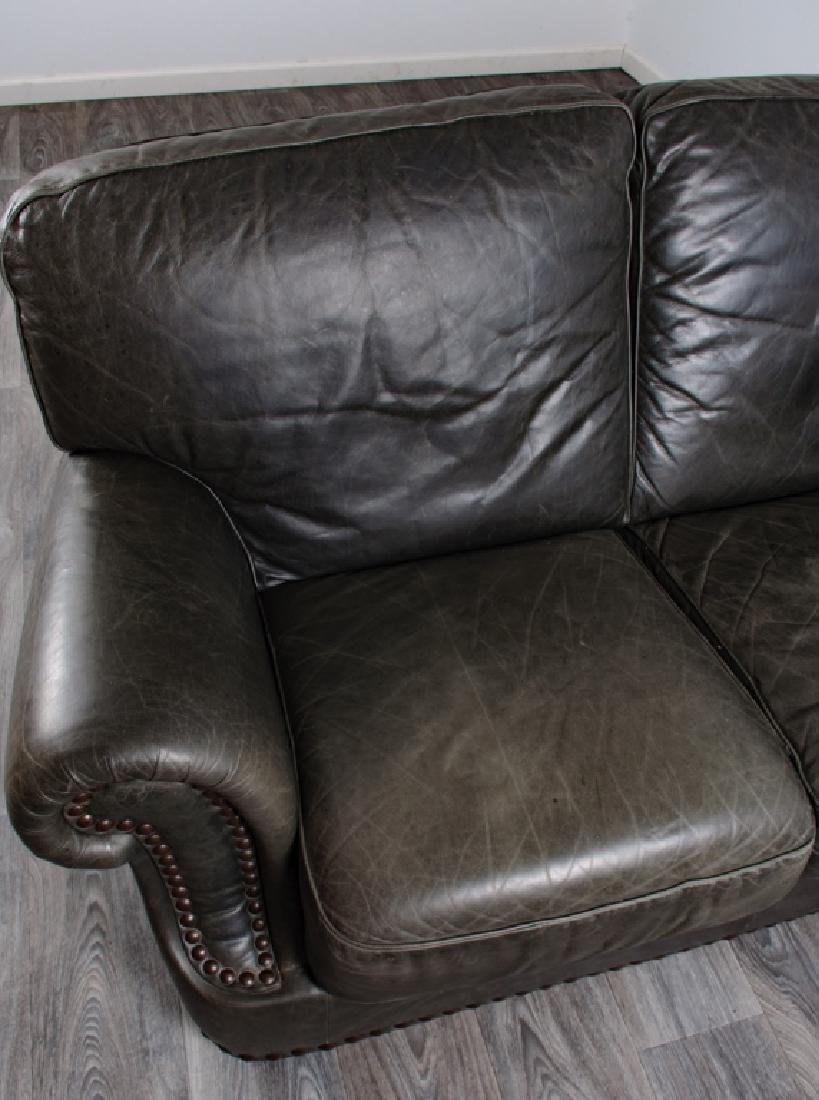 Leather Loveseat - 7