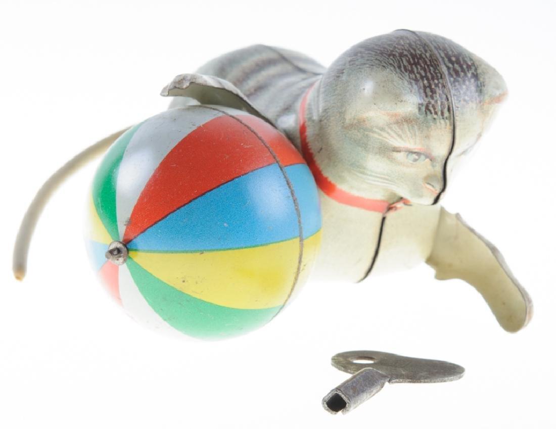 Ges Gesch GNK Tin Litho Cat Wind-Up Toy