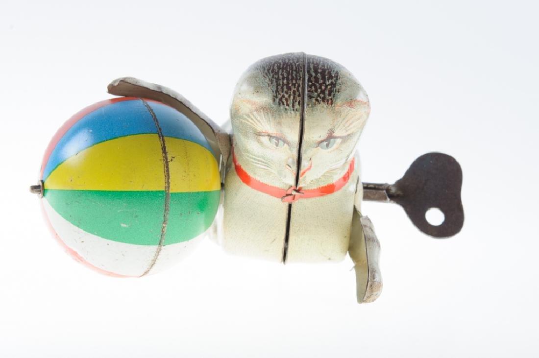 Ges Gesch GNK Tin Litho Cat Wind-Up Toy - 2