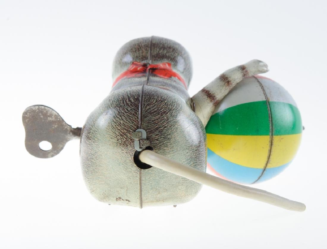 Ges Gesch GNK Tin Litho Cat Wind-Up Toy - 3