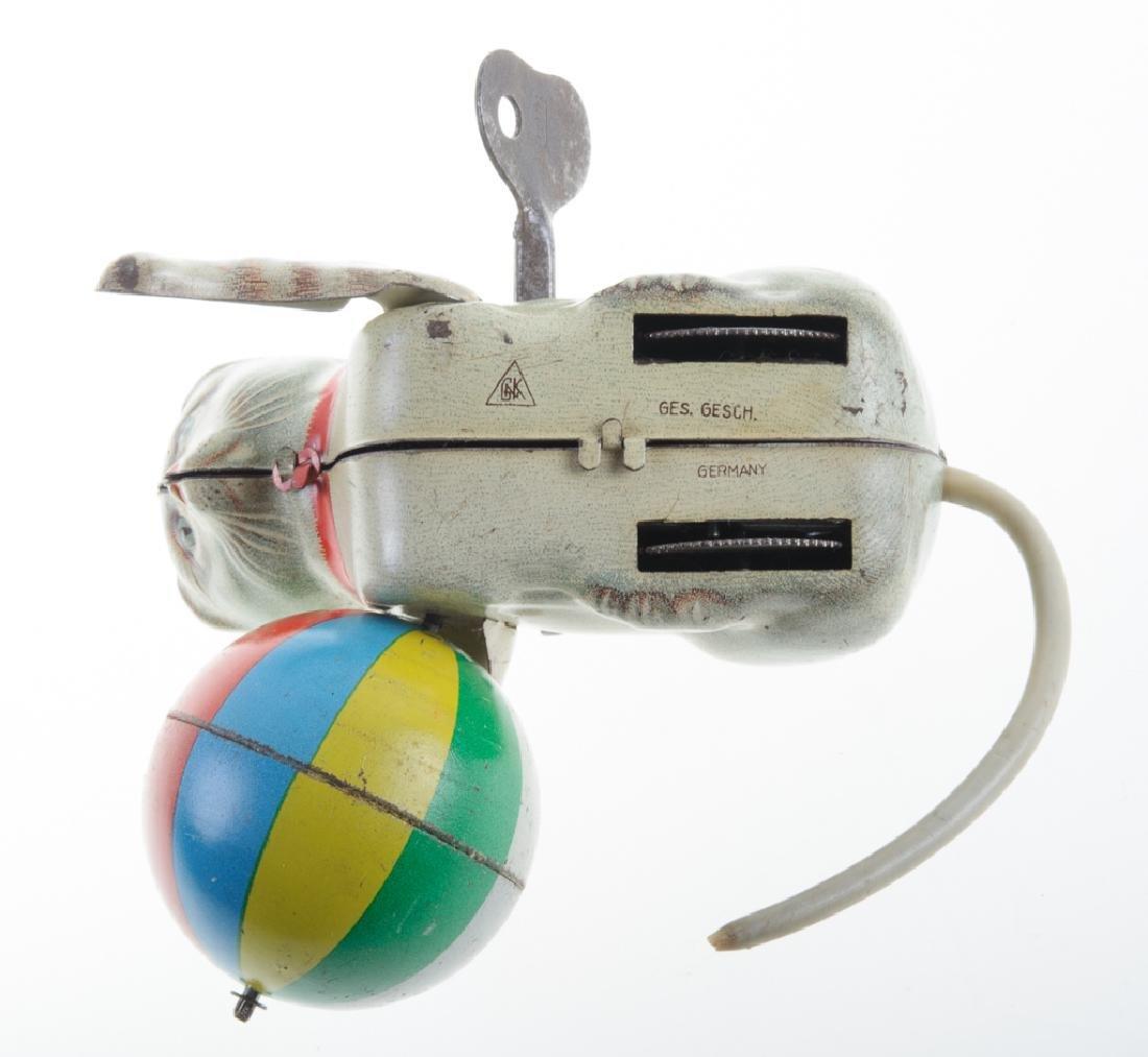 Ges Gesch GNK Tin Litho Cat Wind-Up Toy - 6