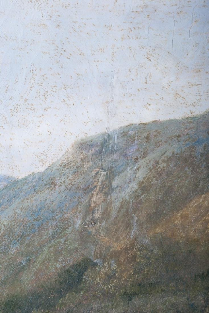 English Oil on Canvas Painting, Dated 1903 - 3