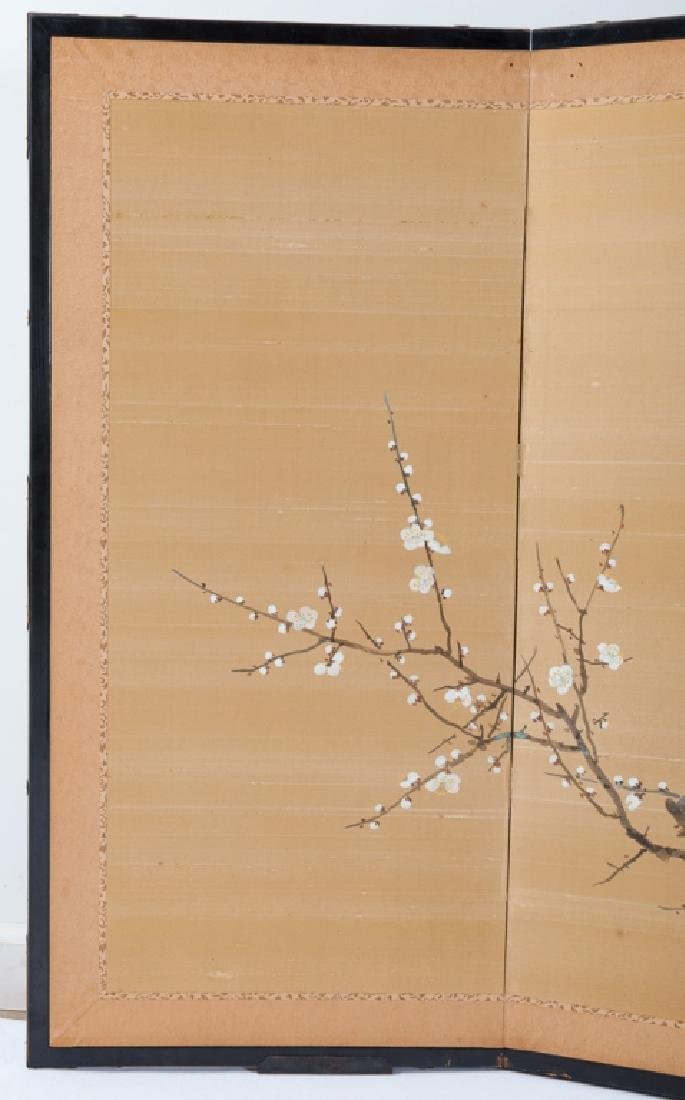 Japanese Painted Table Screen - 4