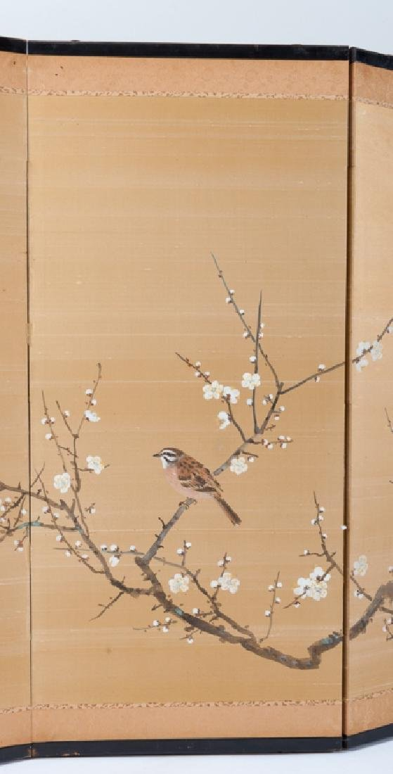 Japanese Painted Table Screen - 5