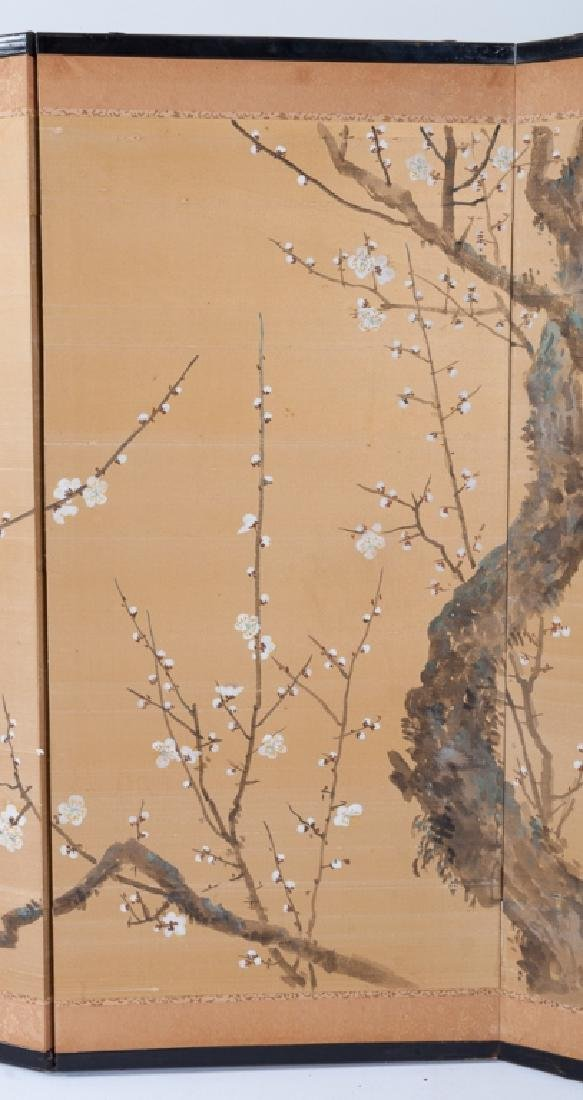 Japanese Painted Table Screen - 6