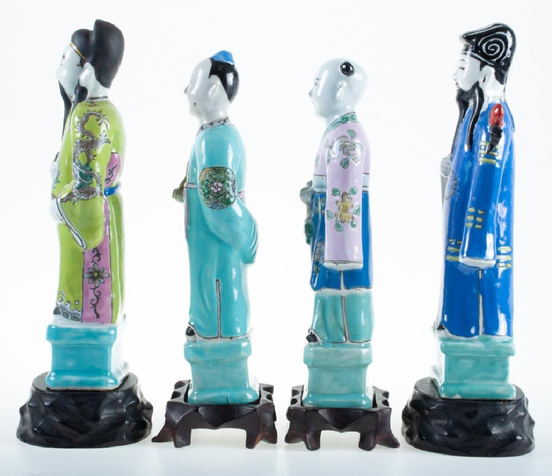 Chinese Porcelain Figures 19th C - 2