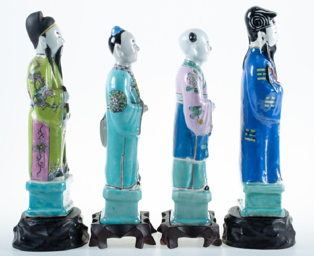 Chinese Porcelain Figures 19th C - 4
