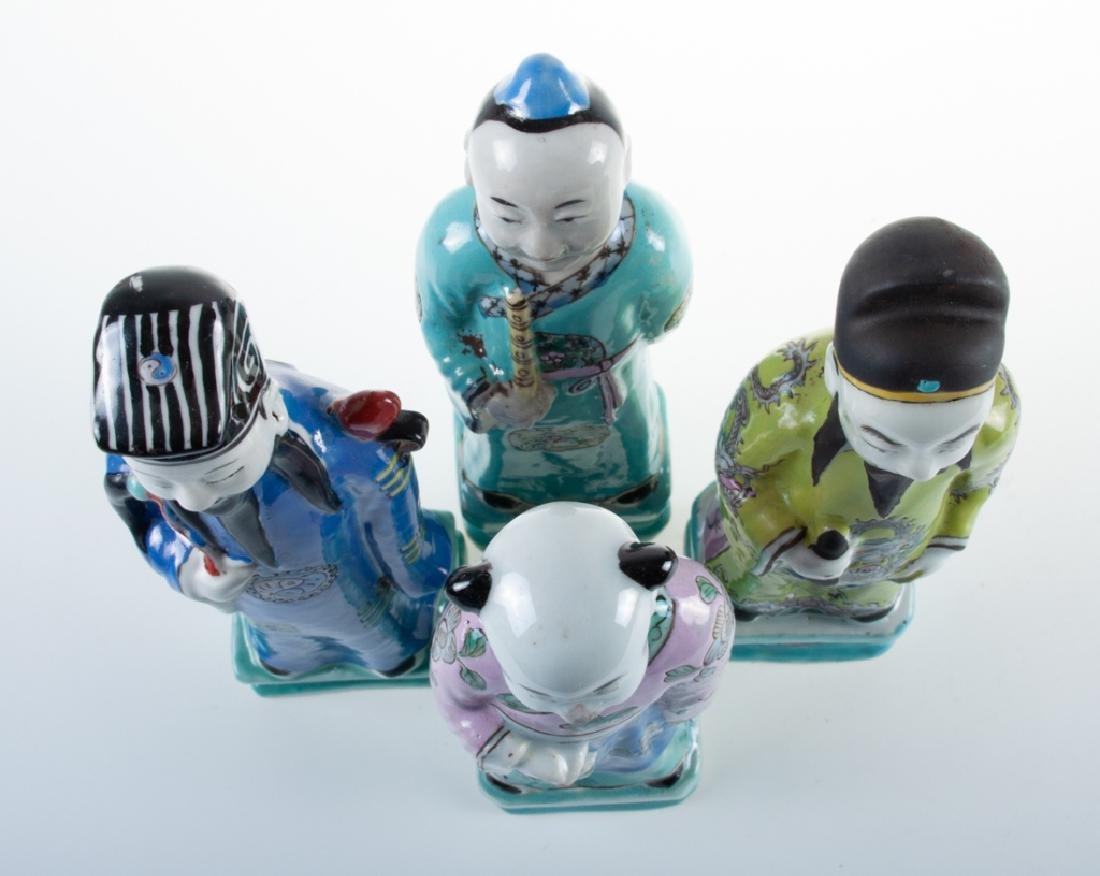 Chinese Porcelain Figures 19th C - 5