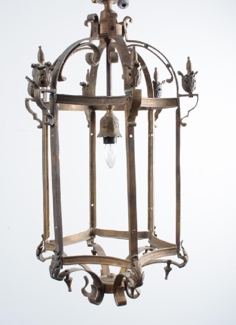 Bronze Hanging Lantern - 2