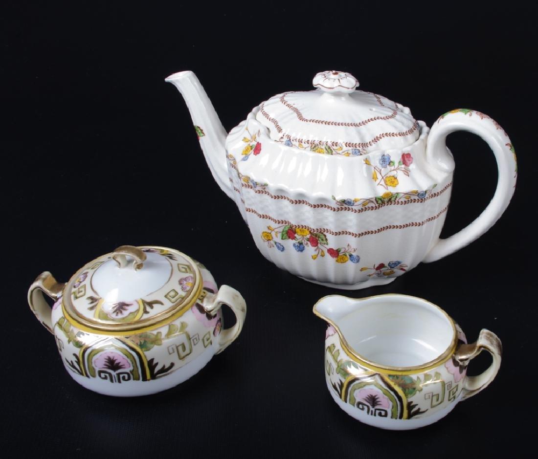 Spode & Nippon Porcelain Partial Tea Service