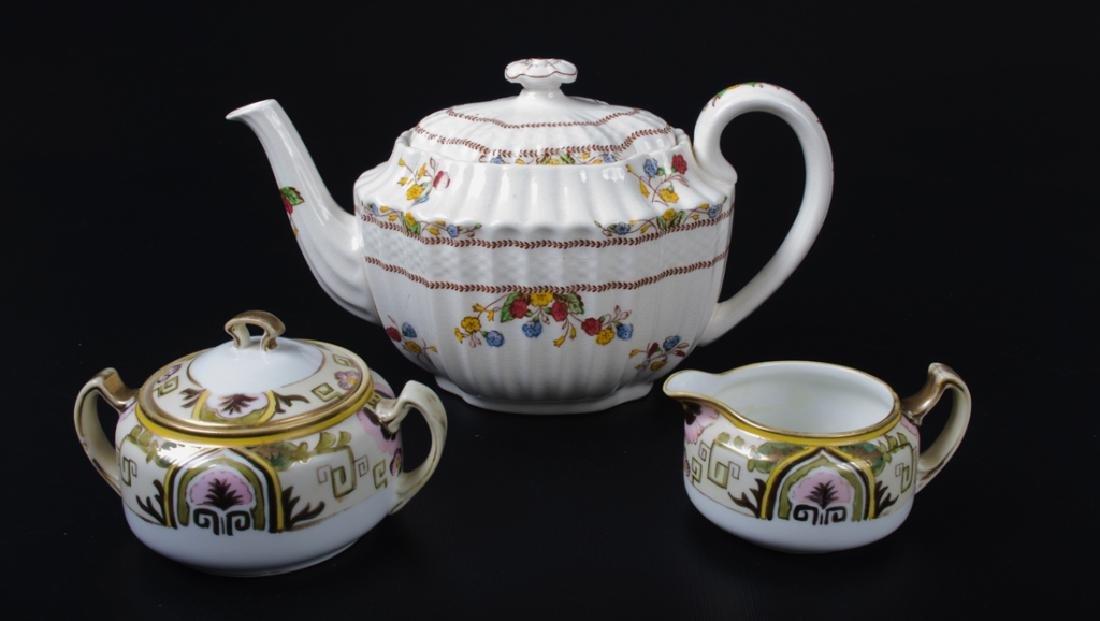 Spode & Nippon Porcelain Partial Tea Service - 2