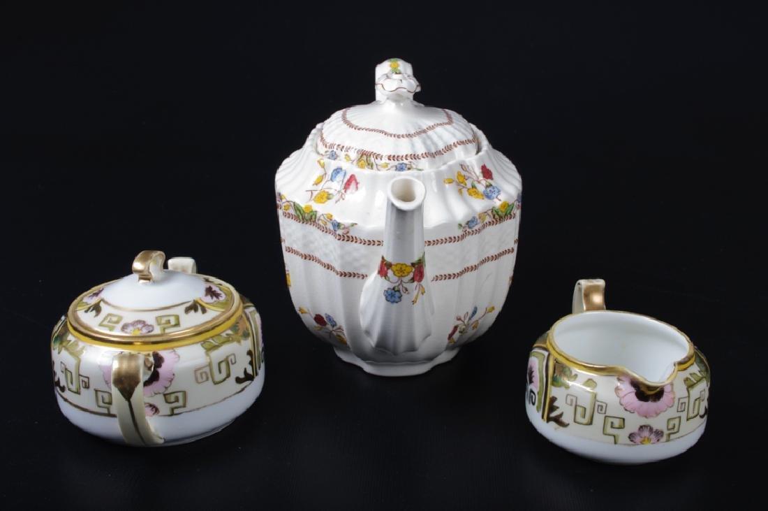 Spode & Nippon Porcelain Partial Tea Service - 5
