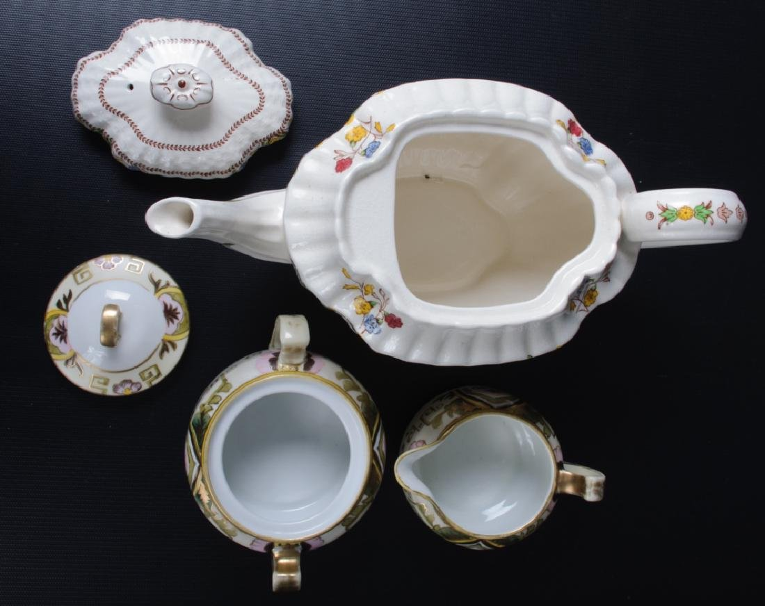 Spode & Nippon Porcelain Partial Tea Service - 6