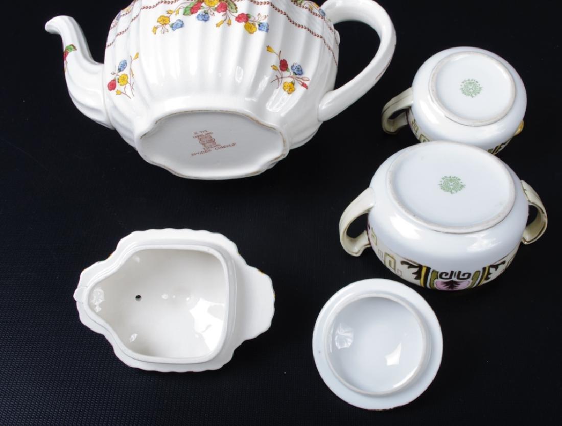 Spode & Nippon Porcelain Partial Tea Service - 7