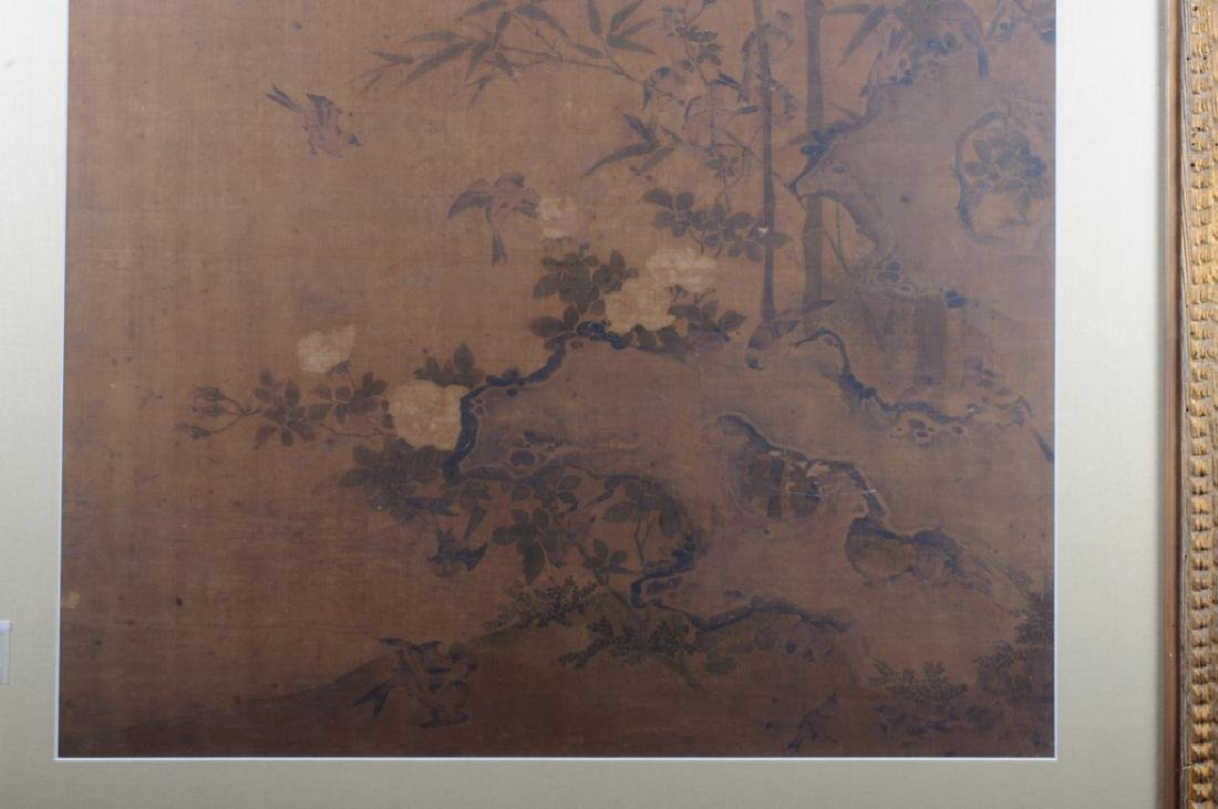 Large Asian Painting on Silk - 7