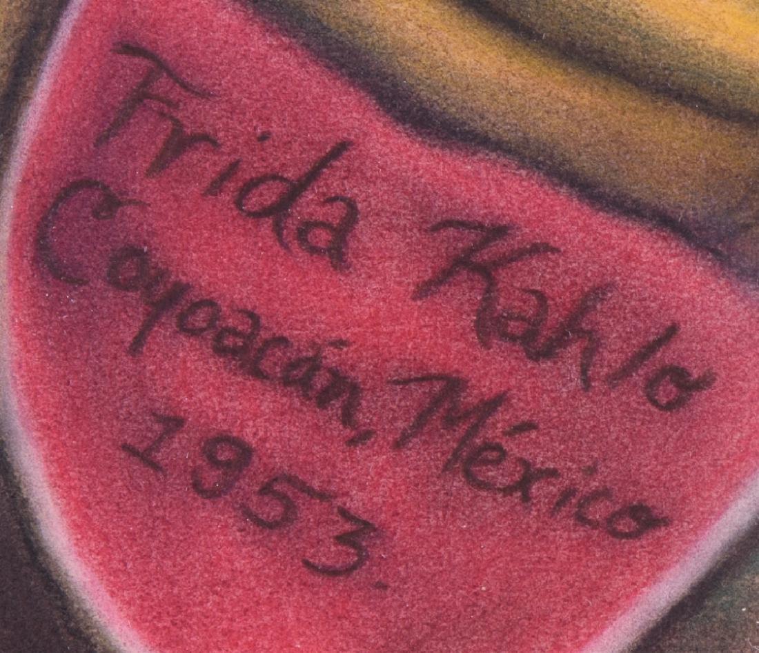 "Frida Kahlo ""Naturaleza Muerta"" Mixed Media - 7"