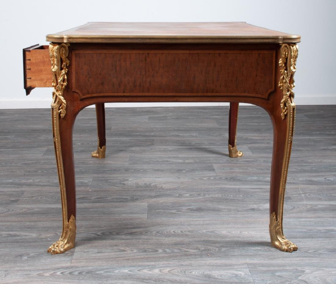 French Bureau Plat 19th C - 6