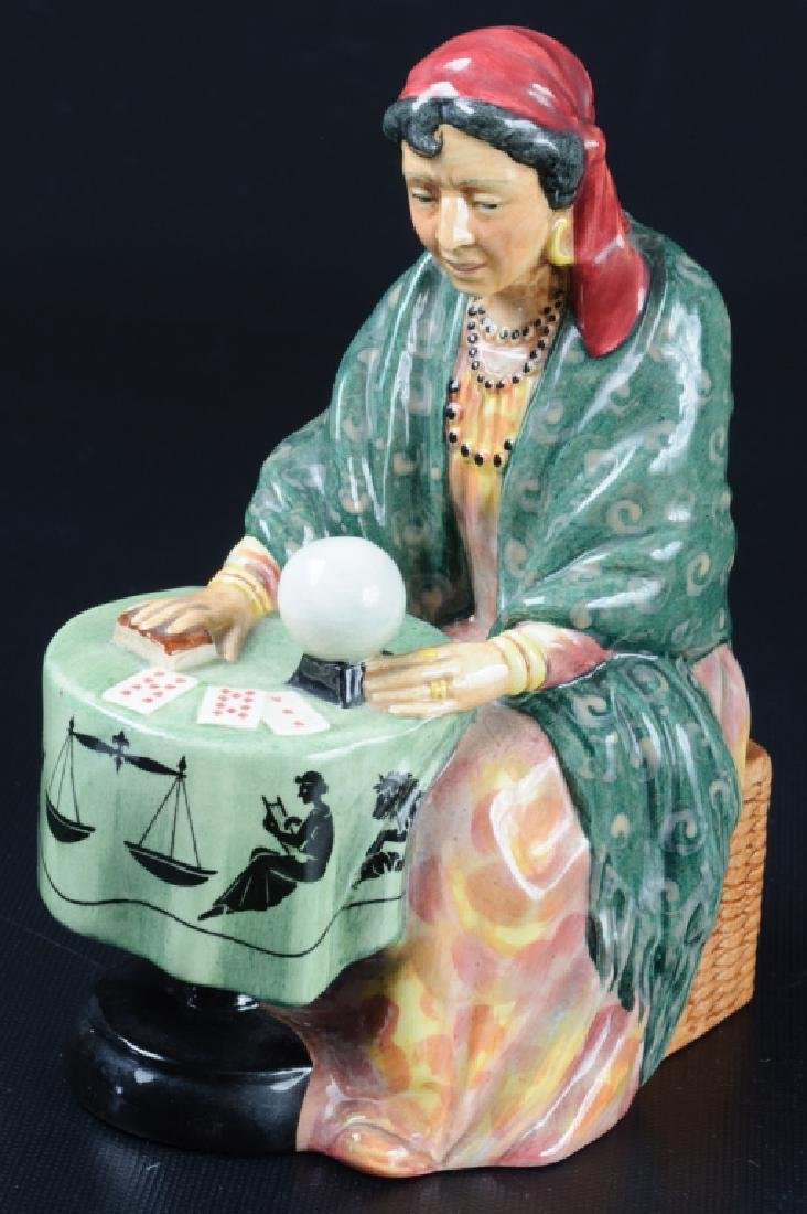 Royal Doulton Fortune Teller Porcelain Figurine