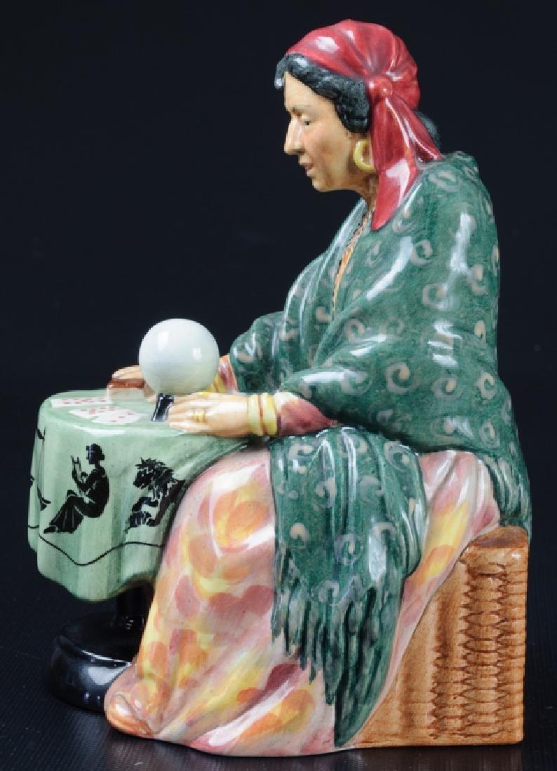 Royal Doulton Fortune Teller Porcelain Figurine - 2