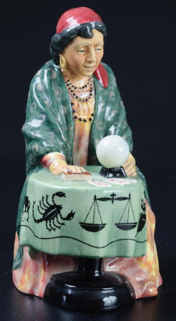Royal Doulton Fortune Teller Porcelain Figurine - 3