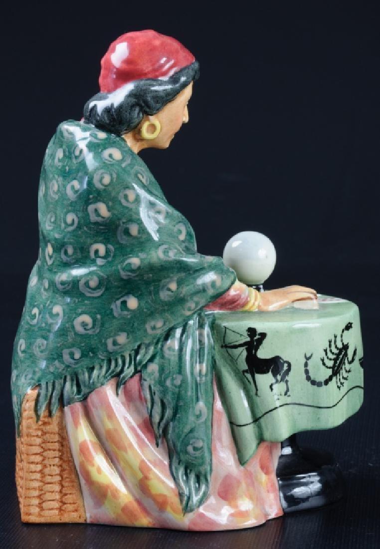 Royal Doulton Fortune Teller Porcelain Figurine - 4