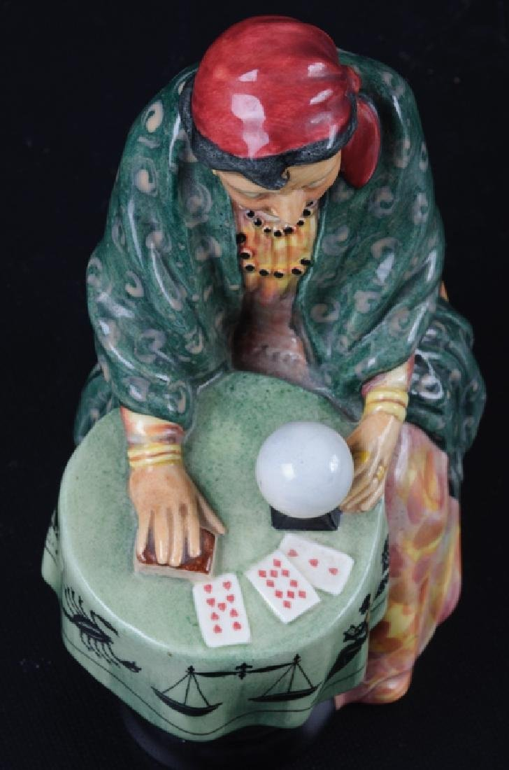 Royal Doulton Fortune Teller Porcelain Figurine - 6