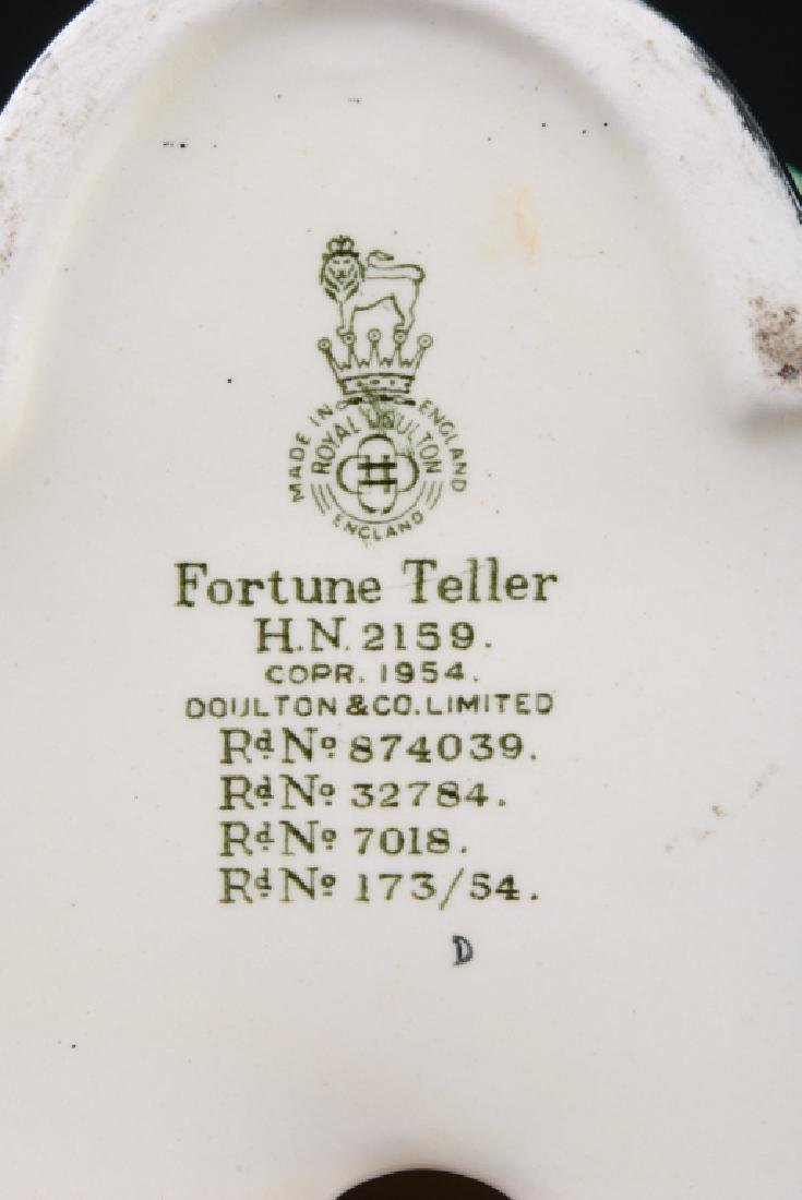 Royal Doulton Fortune Teller Porcelain Figurine - 8
