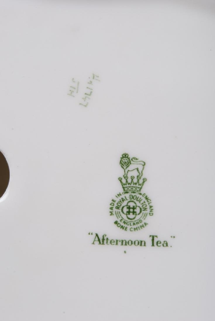 Royal Doulton Afternoon Tea Porcelain Grouping - 3
