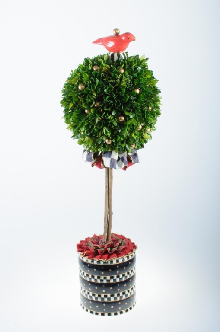 Mackenzie-Childs Boxwood Topiary