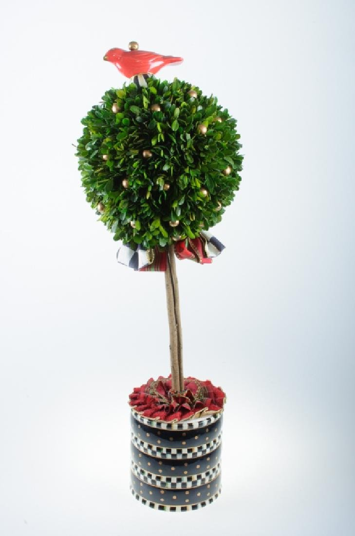Mackenzie-Childs Boxwood Topiary - 2