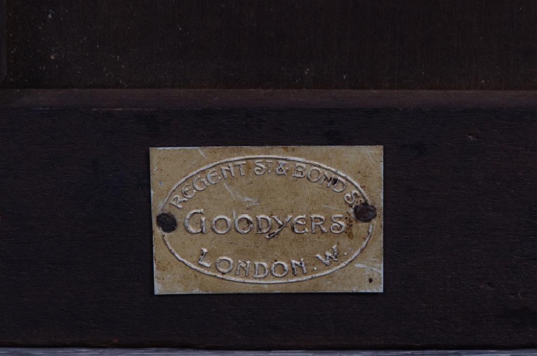 Goodyers English Mahogany Revolving Bookcase - 6
