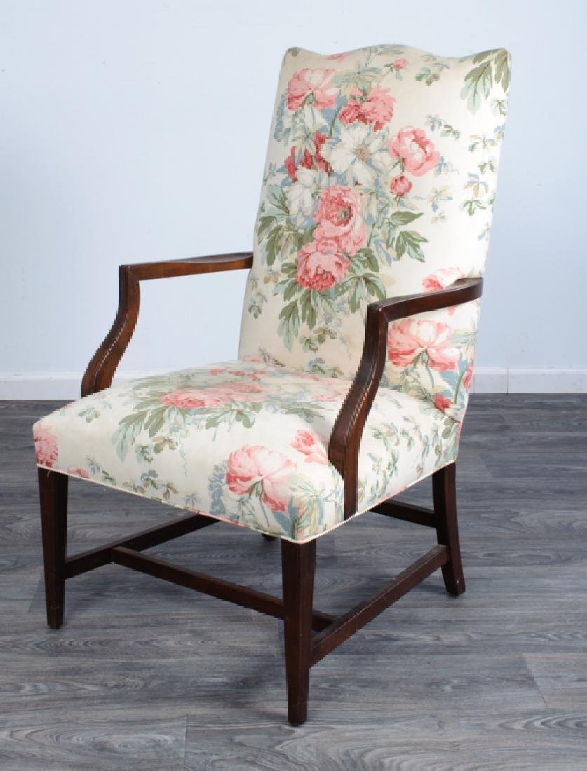 Upholstered Library Chair
