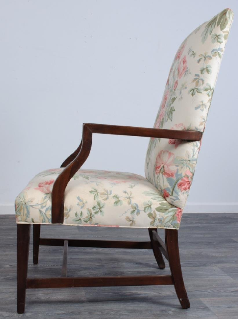 Upholstered Library Chair - 2