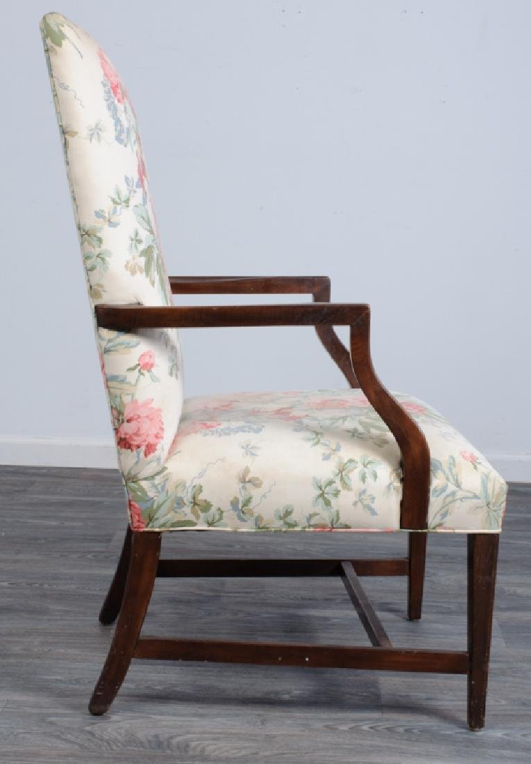 Upholstered Library Chair - 4