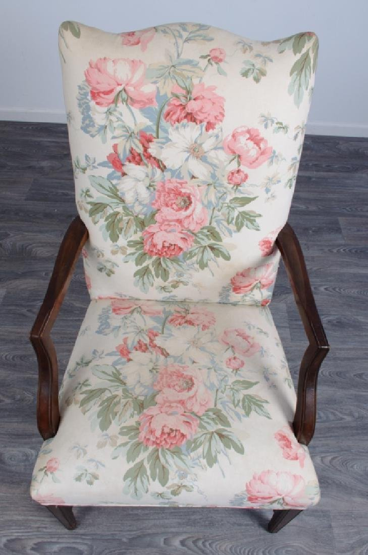Upholstered Library Chair - 5
