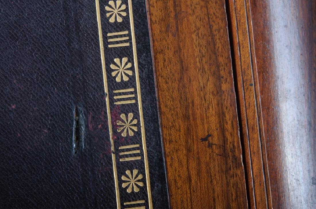 Georgian Brass Bound Mahogany Lap Desk - 3