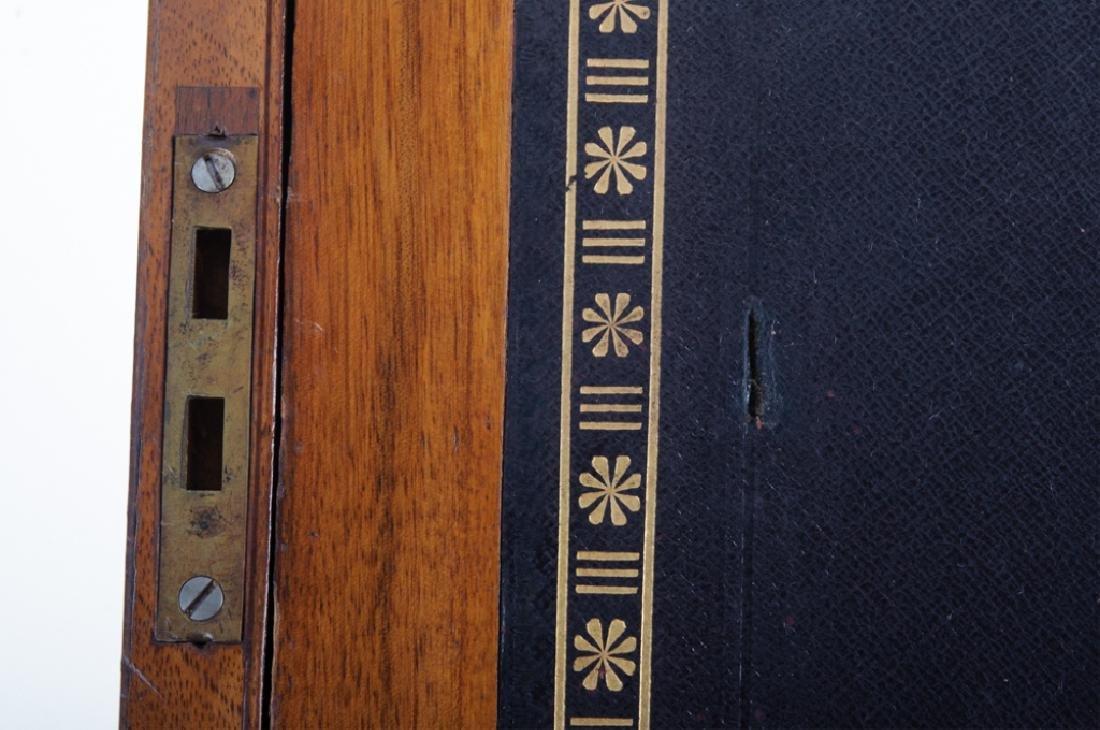 Georgian Brass Bound Mahogany Lap Desk - 4