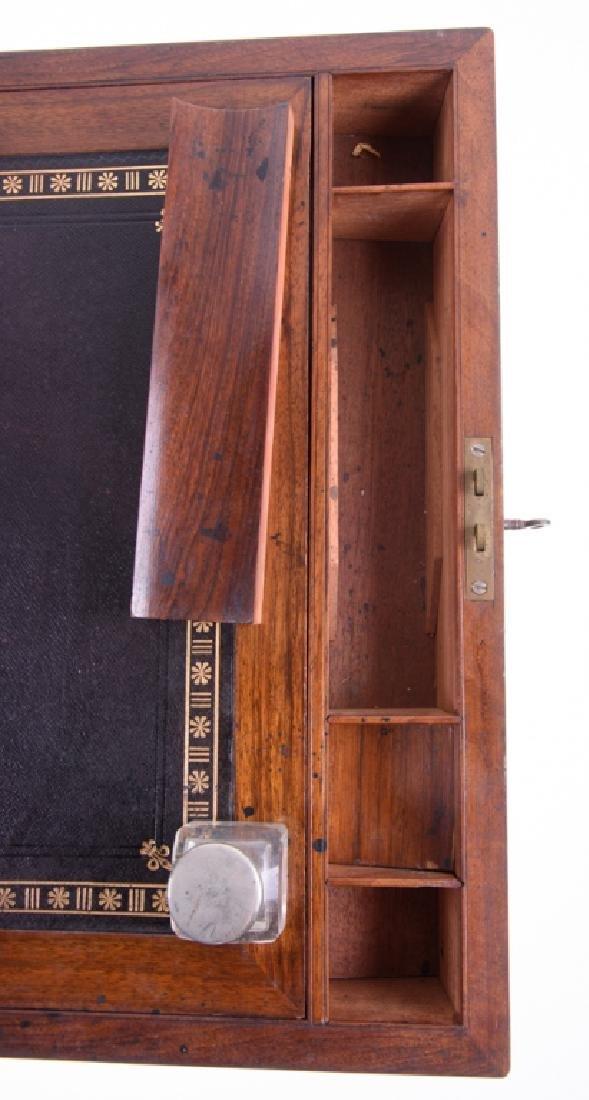 Georgian Brass Bound Mahogany Lap Desk - 6