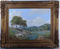 Robert Harrison Oil on Canvas Painting