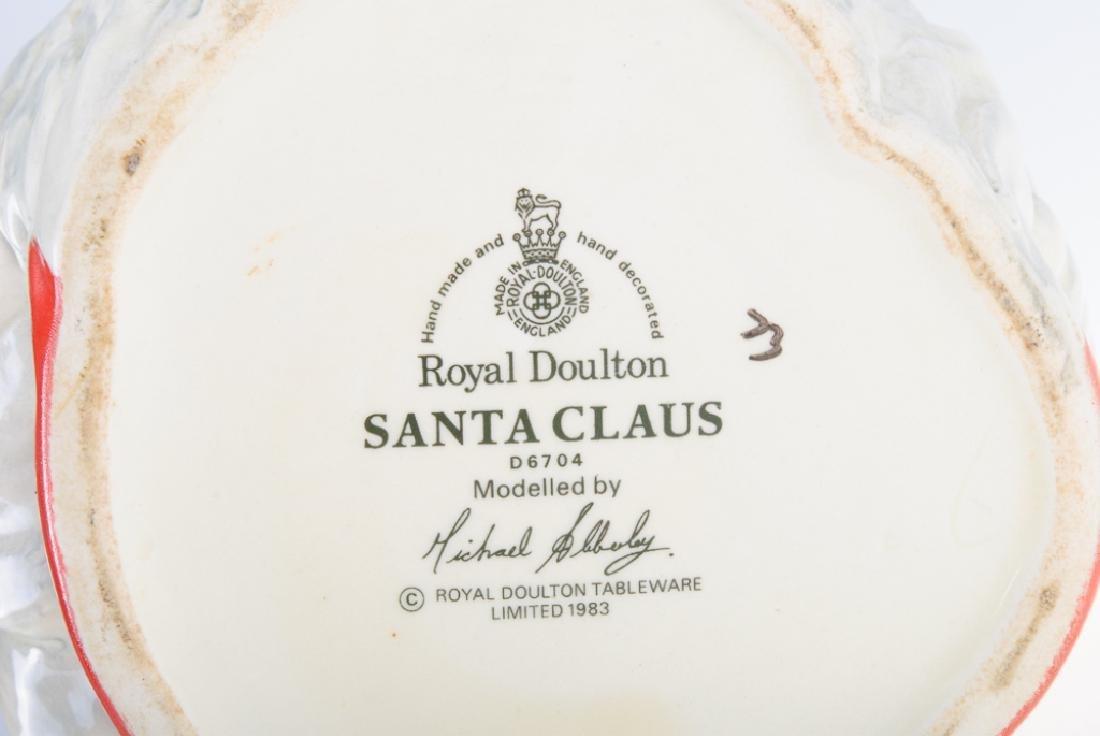 Royal Doulton Santa Claus Toby Mug - 5