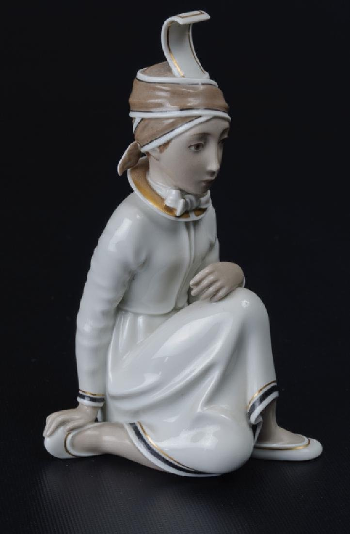 Royal Copenhagen Icelandic Girl Figurine