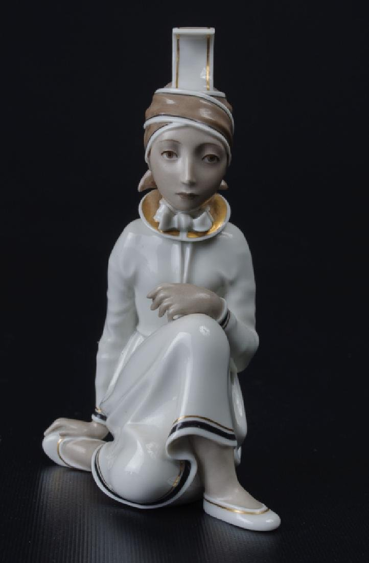 Royal Copenhagen Icelandic Girl Figurine - 2