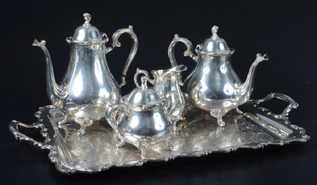Webster & Wilcox Joanne SP Coffee & Tea Service