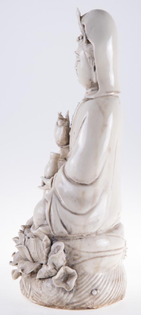 Chinese Porcelain Quan Yin - 3