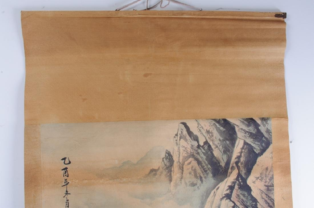 Chinese Scroll Painting of  Tiger, L 19th/E 20th C - 4