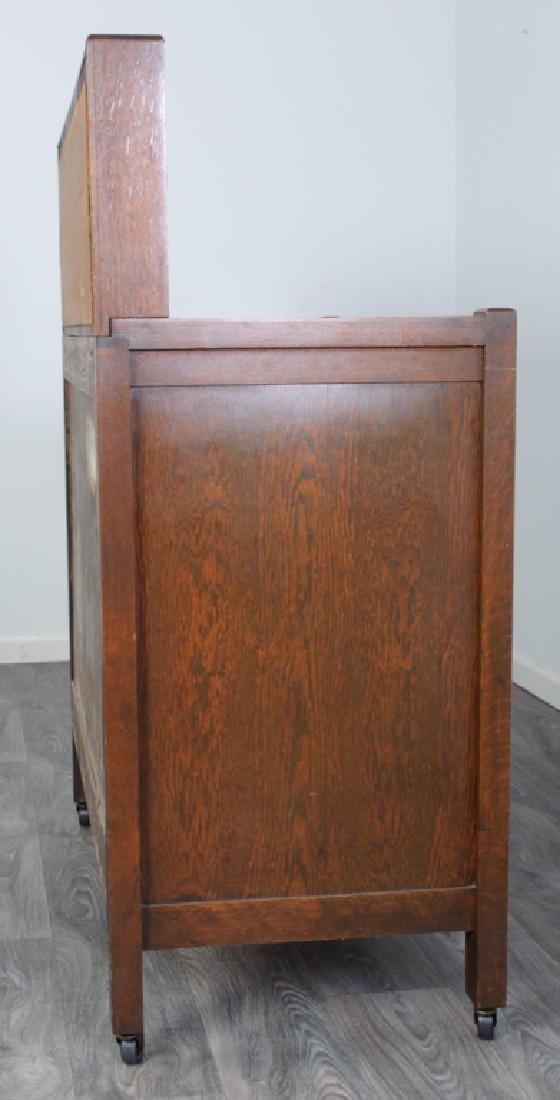 American Arts & Crafts Oak Sideboard - 5