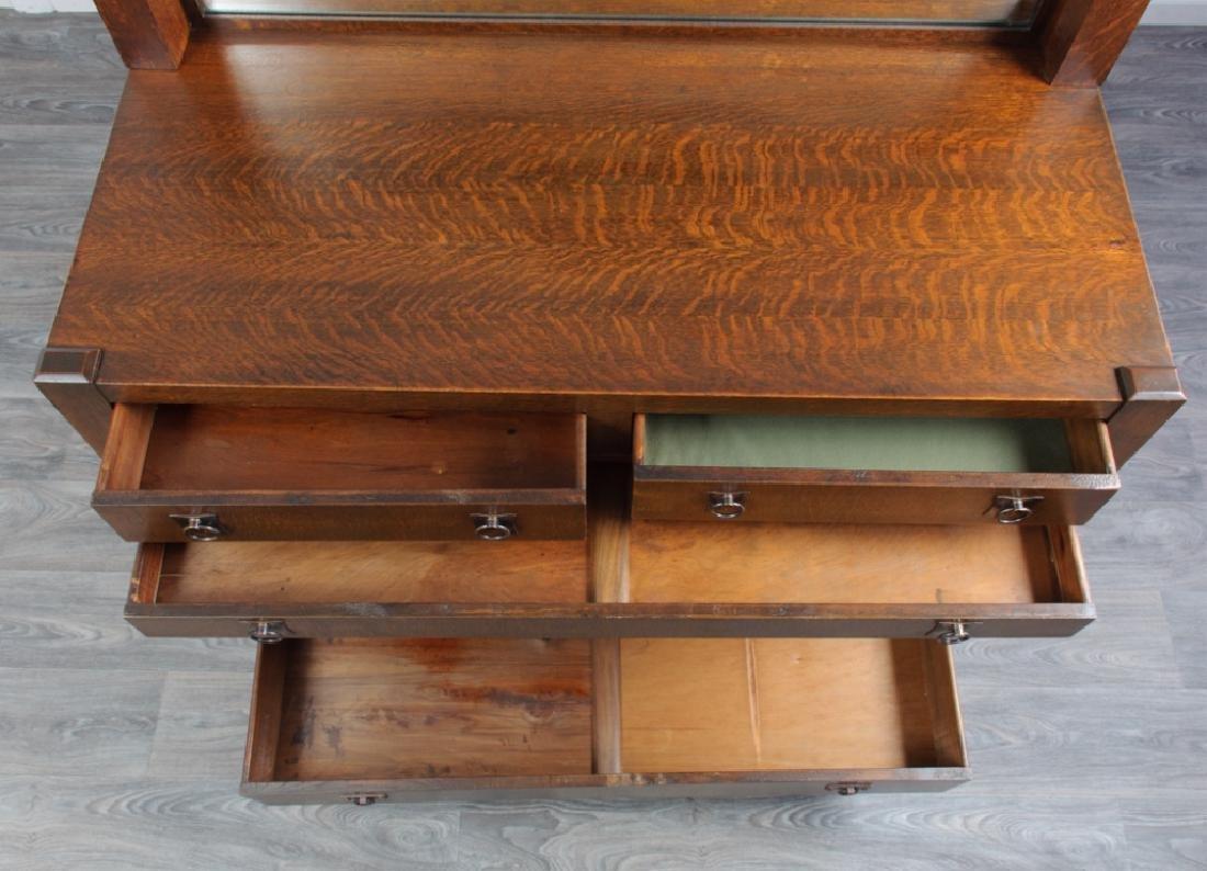 American Arts & Crafts Oak Sideboard - 7