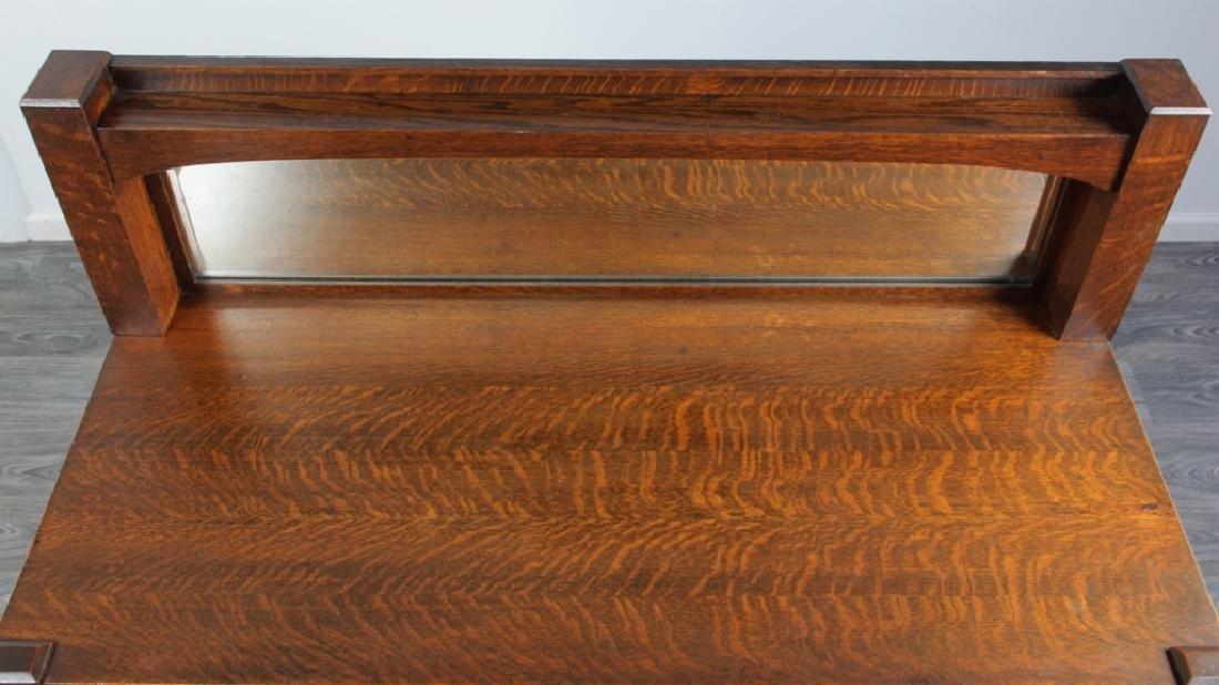 American Arts & Crafts Oak Sideboard - 8