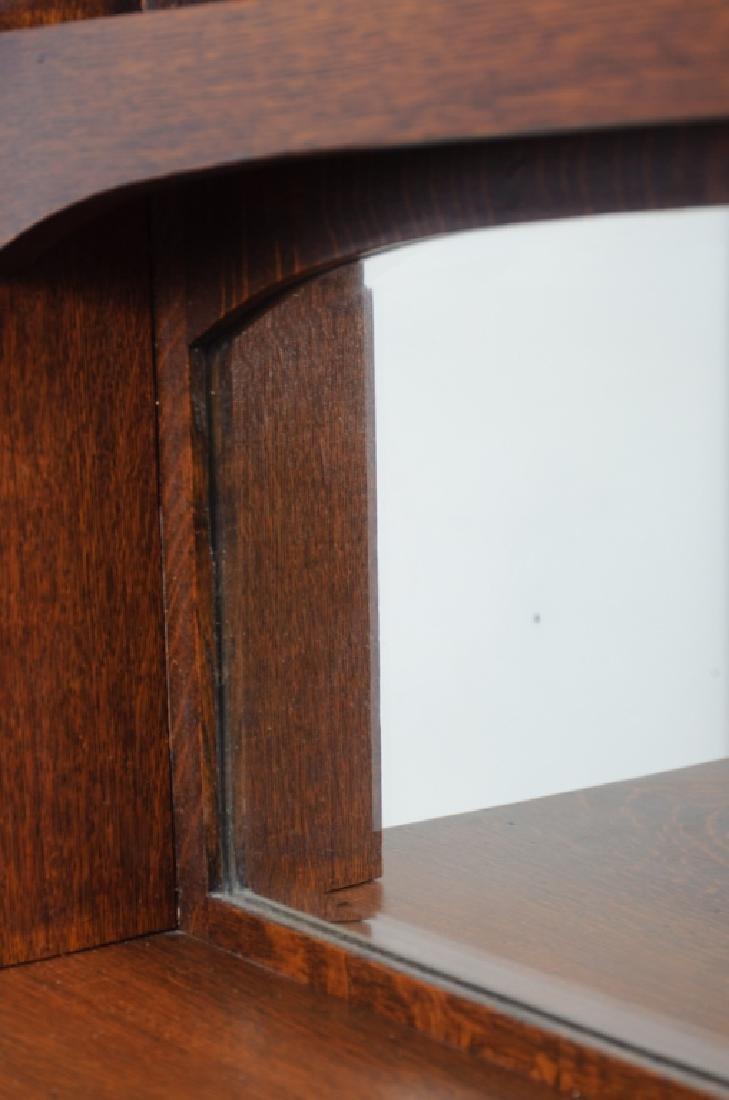 American Arts & Crafts Oak Sideboard - 9
